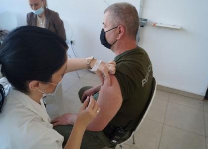 fotka 3 vakcinisanje policije u zdk maj 2021