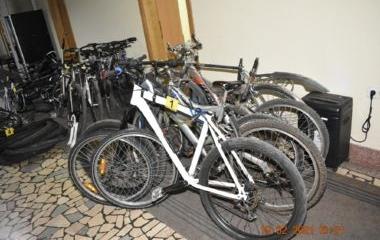 Uspješnom akcijom zeničke policije pronađen veći broj otuđenih bicikla