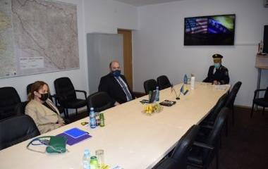 Direktor Ureda INL-a u BiH Stephen T.Glaser u posjeti Upravi policije MUP-a ZDK