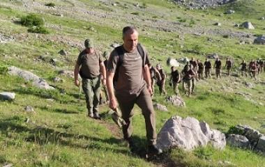 Obavljen trening pripadnika Specijalne policijske jedinice u misiji spašavanja povrijeđenog lica u ekstremnim uslovima